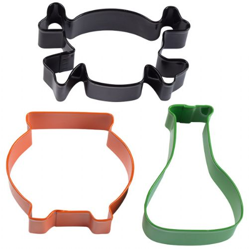 Mad Scientist Cookie Cutter Set